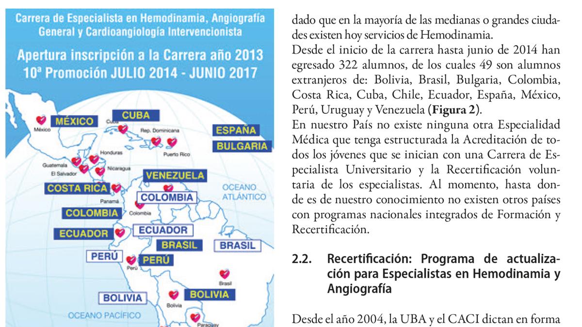 Capacitación en protección radiológica en Cardiología Intervencionista en la Argentina