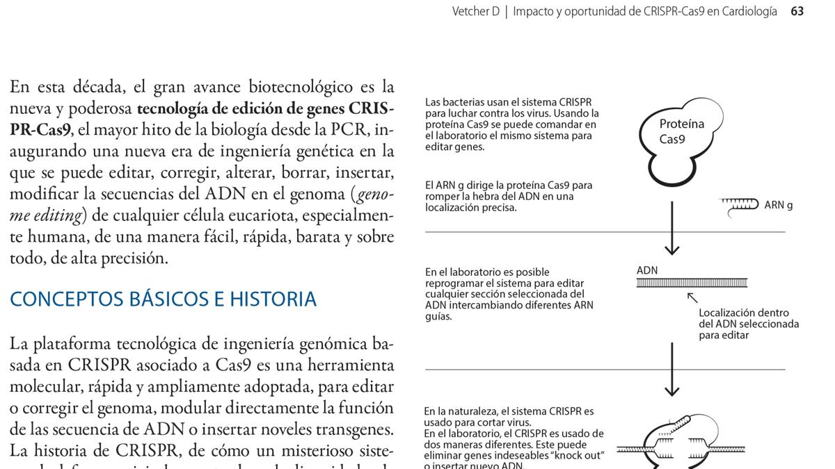 Impacto y oportunidad de CRISPR-Cas9 en Cardiología
