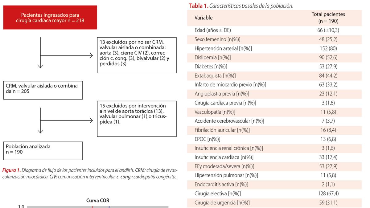 Comparación del ArgenSCORE, EuroSCORE II y STS score en la predicción de mortalidad intrahospitalaria en cirugía cardíaca