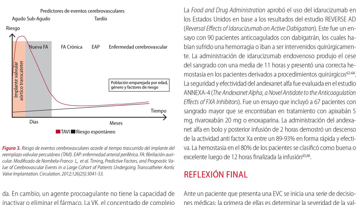 Anticoagulación en enfermedades valvulares  ¿está todo definido?