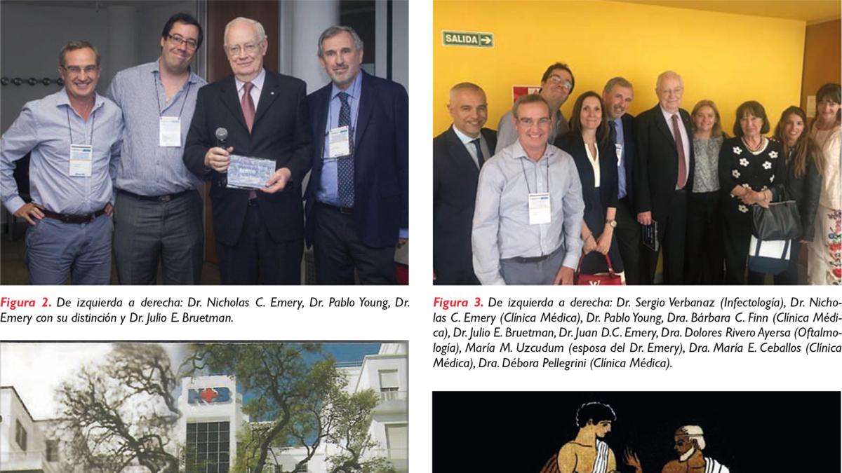 Distinción de Mentor para  el Dr. Juan David Carlos Emery