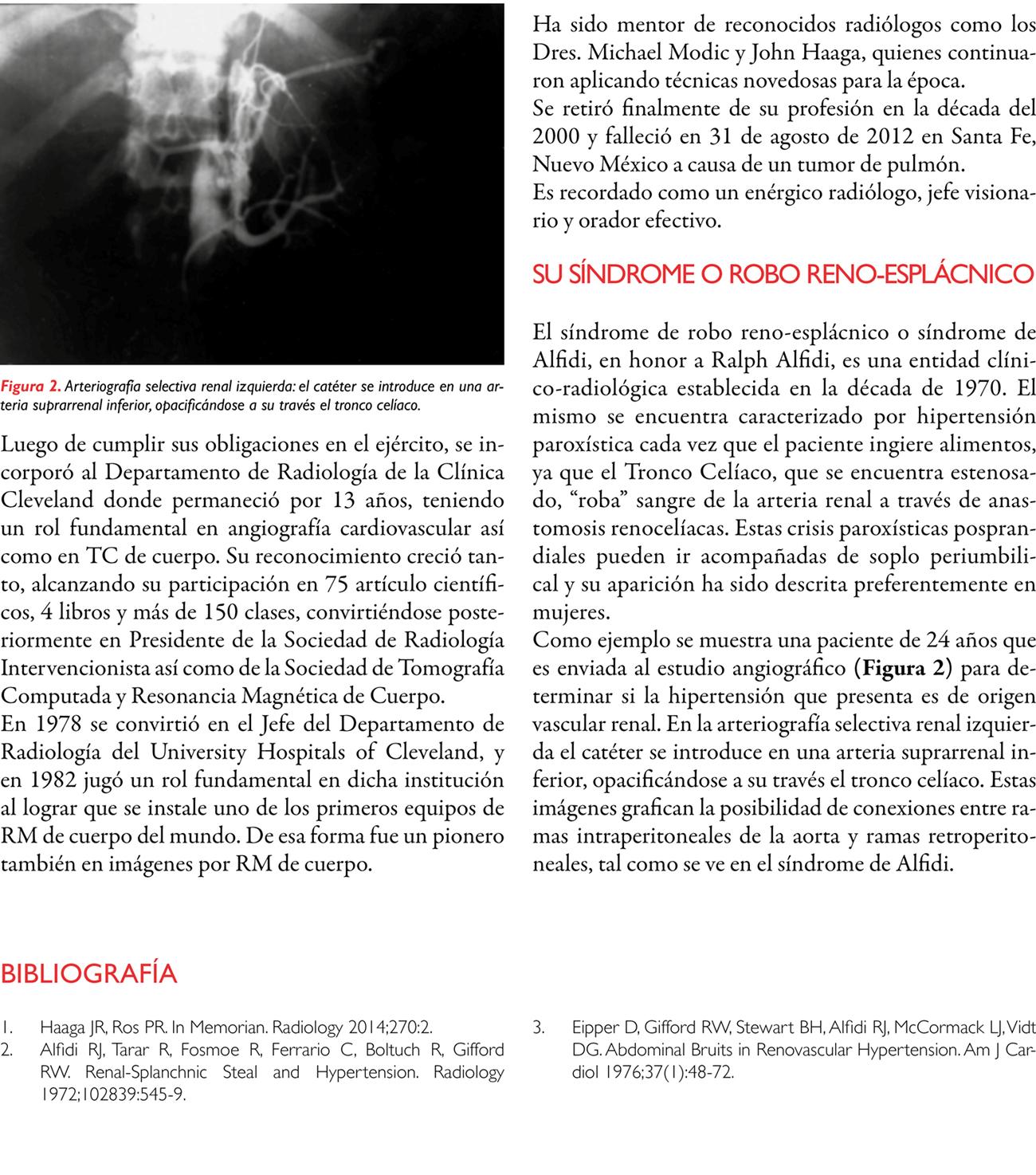 Síndrome de Alfidi o de robo reno-esplácnico