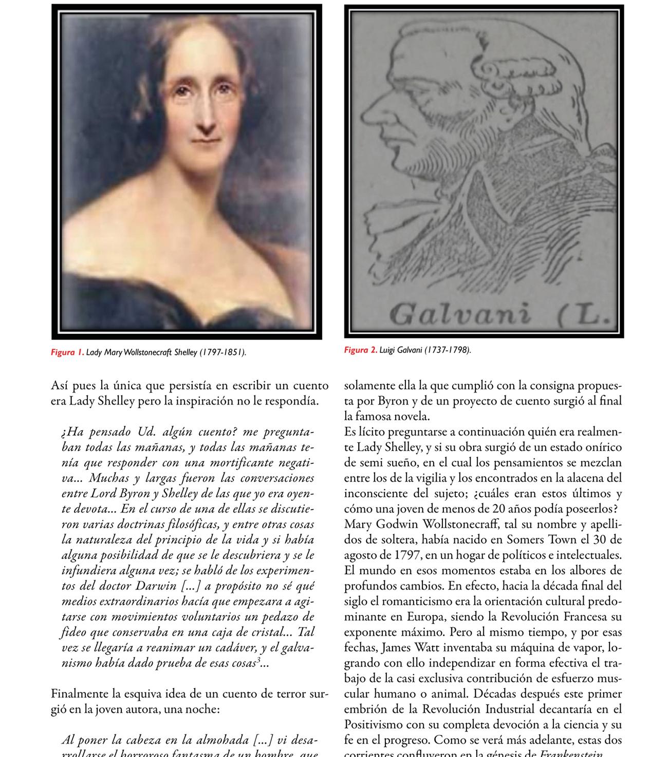 Reflexiones en torno al bicentenario de la publicación de Frankenstein o el moderno Prometeo