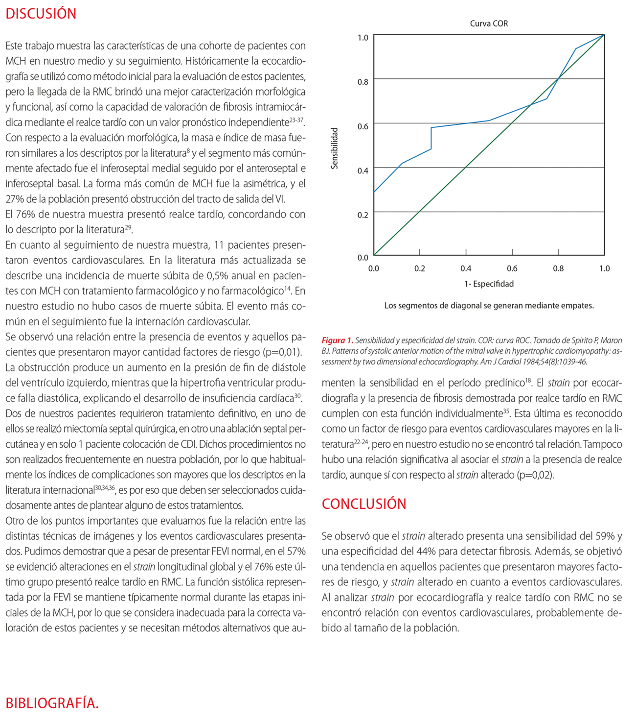 Miocardiopatía hipertrófica: correlación entre hallazgos por resonancia magnética cardíaca, ecocardiograma Doppler y eventos cardiovasculares