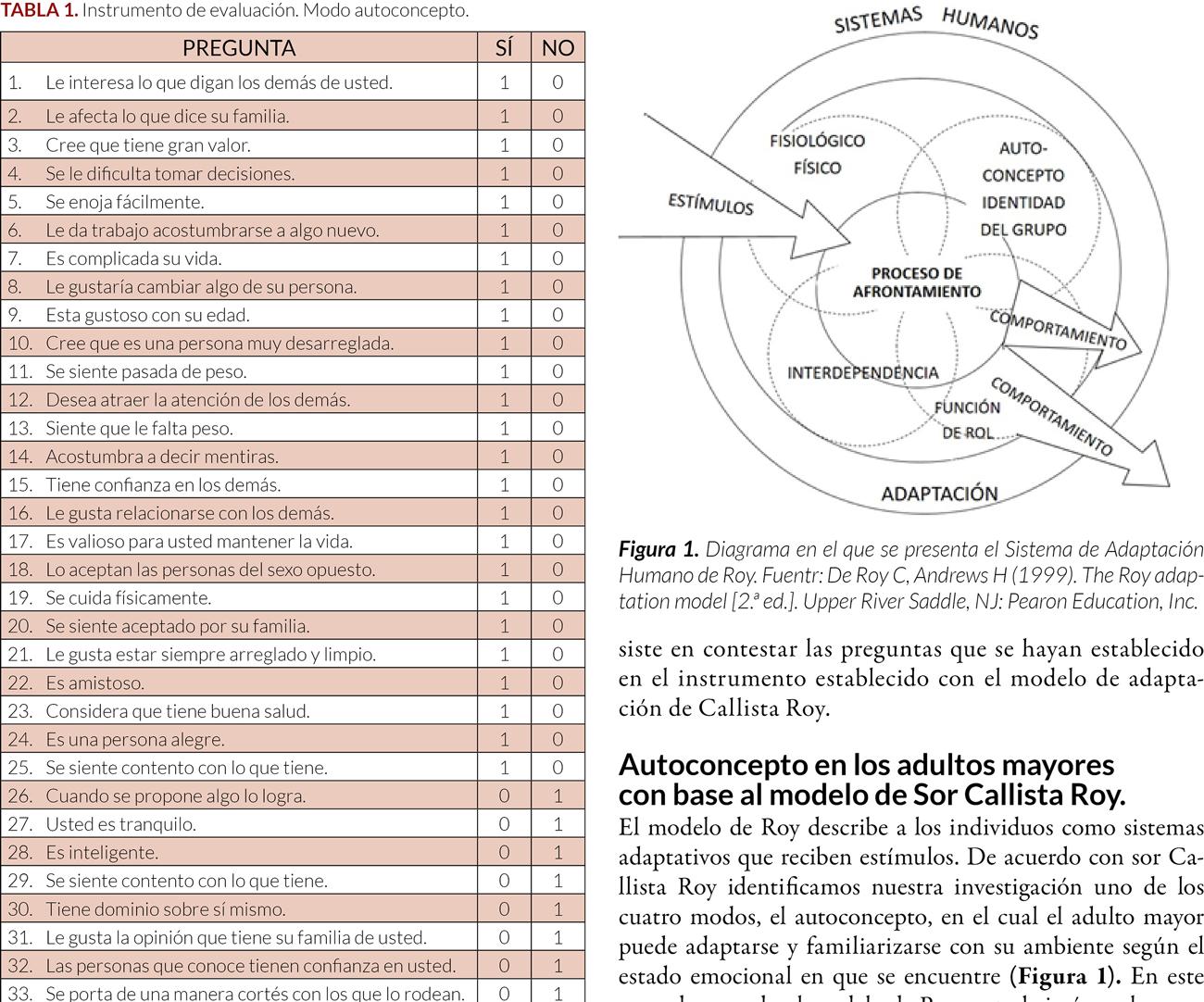 Nivel de autoconcepto en el adulto mayor del Centro Gerontológico de Tula de Allende, Hidalgo, posterior a una intervención educativa