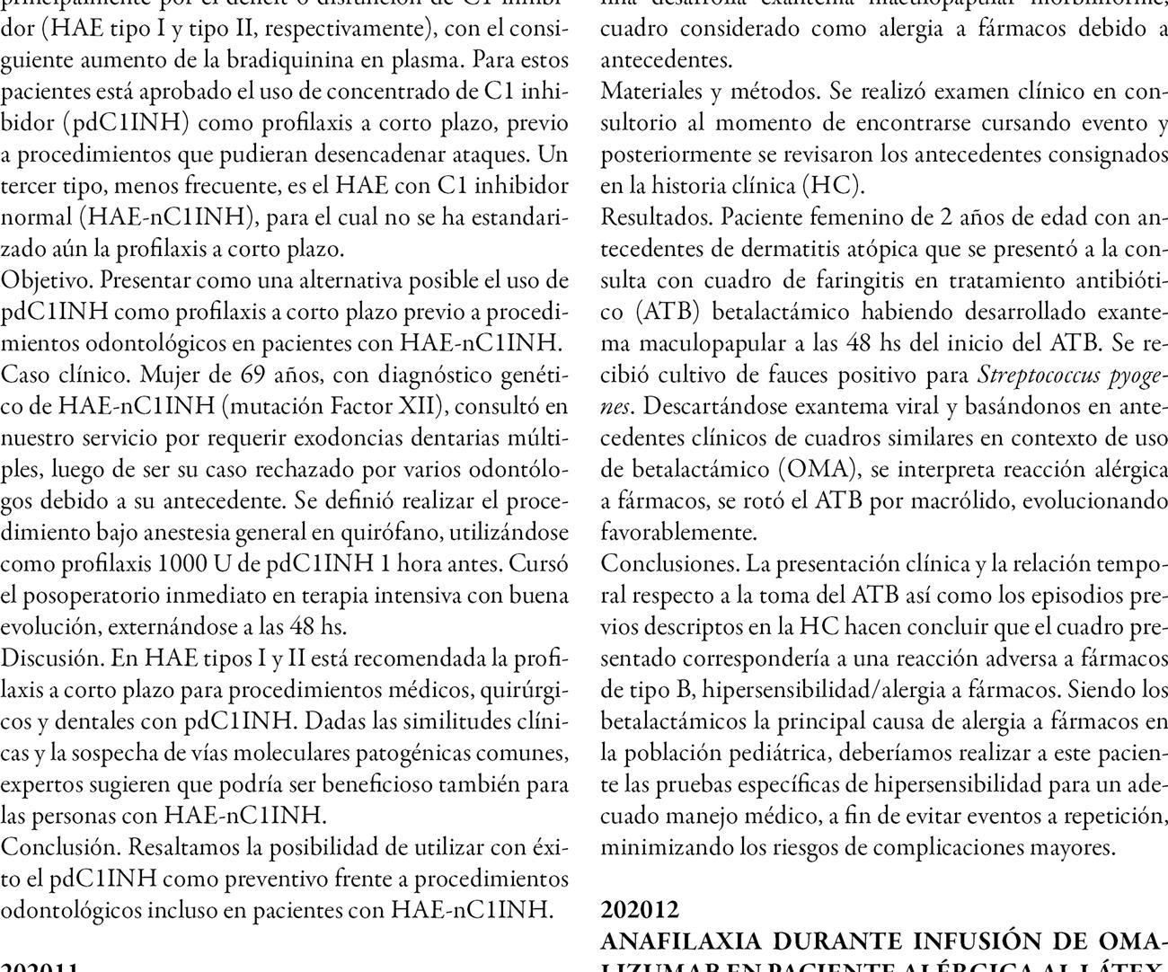 XLIII Congreso Anual AAAeIC. Trabajos presentados en formato poster